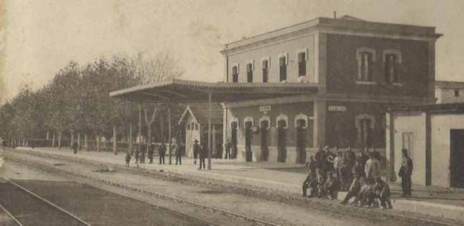 Estacion de Ulldecona , foto Thomas
