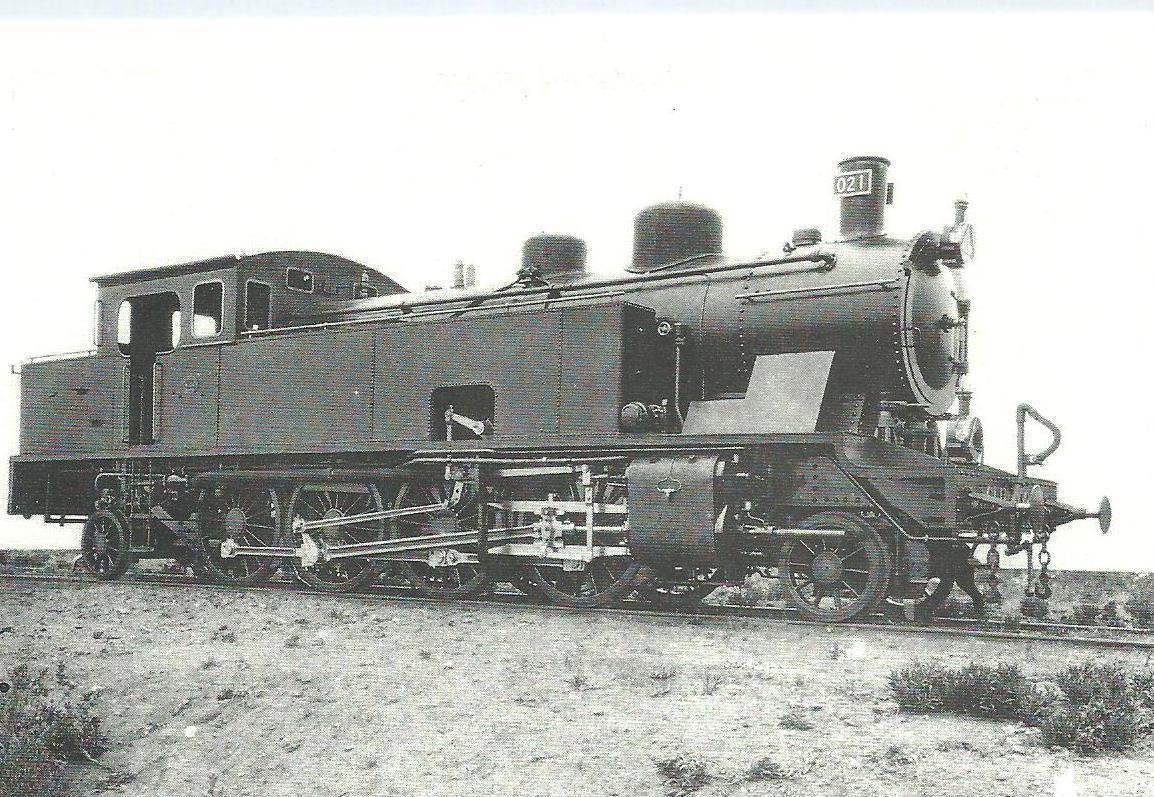 Ex Baza a Guadix nº 21 MTM (Renfe 141-0201)