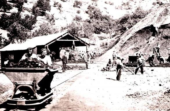 Explotacion de la Mina Angelita , Archivo Municipal de Malgrat de Mar , fondo Cardona
