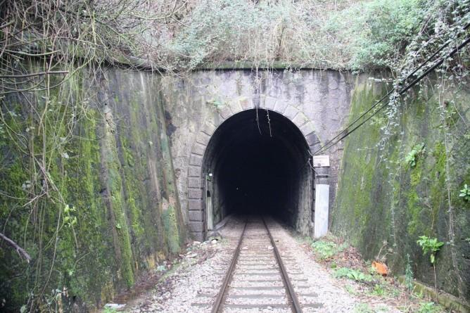 Boca del Túnel de la Peña , foto Carmelo Zaita.
