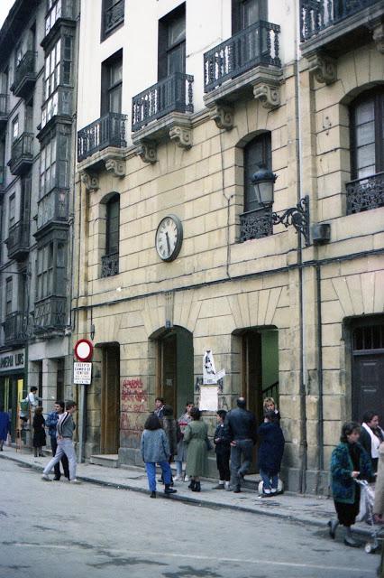 Fachada de la Estacion de Bilbao Aduana - Foto Juan Jose Olaizola Elordi