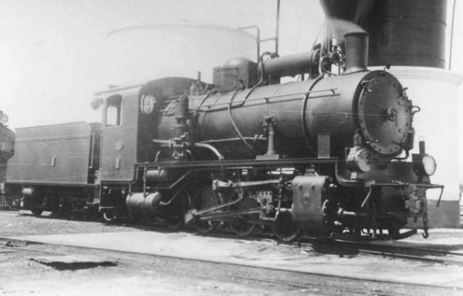 Fc Ceuta a Tetuan , locomotora Henschel, fondo APG