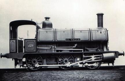 Fc de TRiano , Locomotora El Valle, Archivo MVF Euskotren