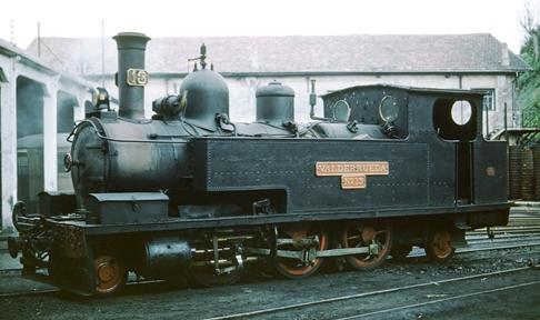 Fc de la Robla, locomotora 131.T VALDERUEDA , foto Peter Willen