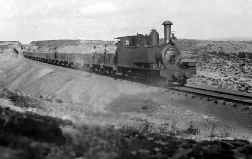 Ferrocarril de Buitron a San Juan del Puerto, foto Juan Zubia, archivo Fundacion Sancho el Sabio