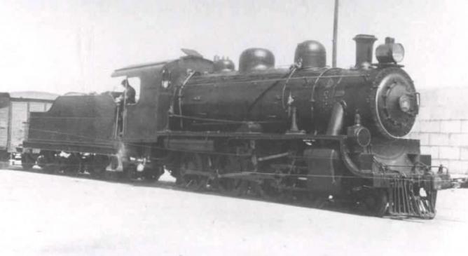 Ferrocarril de Ceuta a Tetuan , Locomotora ALCO, fondo APG