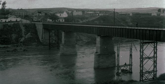 Ferrocarril de La Loma, puente, foto M. Salinas