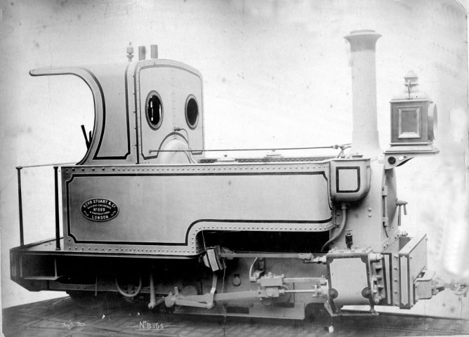 Ferrocarril de la Mina Arrayanes, locomotora