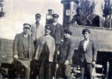 Ferrocarril de la Robla, personal de servicio, Archivo Museo del Ferrocarril de Asturias