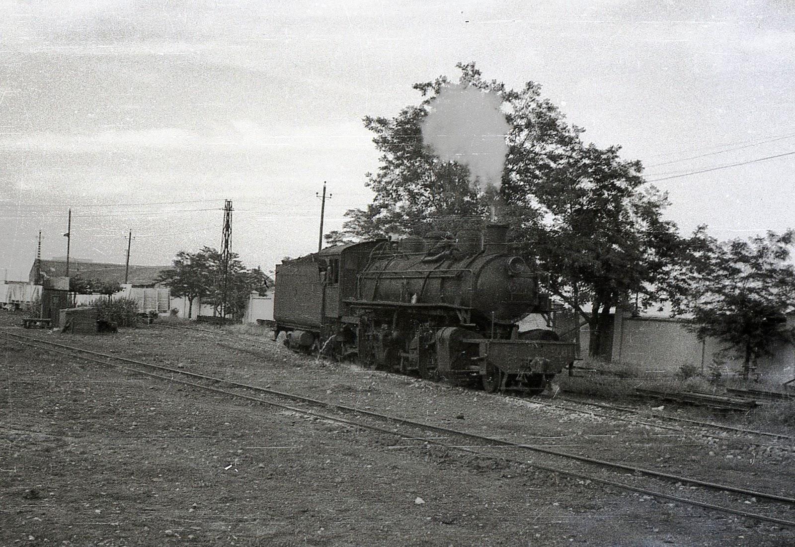 Ferrocarril del Tajuña, locomotora Mallet , foto Trevor Rowe , fondo MVF.