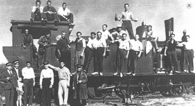 Ferrocarriles de Castilla, imagen cedida por Salvador Barrios, archivo Javier Revilla