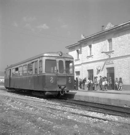Ferrocarriles de Mallorca, estación de Inca, Archivo Cuyás, Fondo ICC