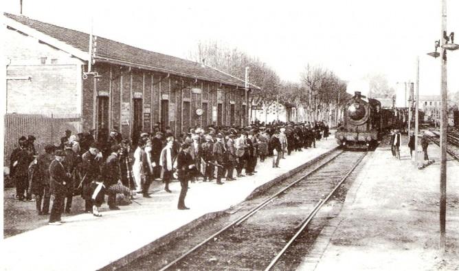 Figueras (Gerona) , noviembre de 1929, foto coleccion Jordi Marques