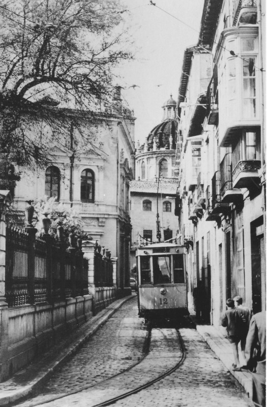 Granada -Puerta Real a Triunfo, 1962, Jose Romero Martinez