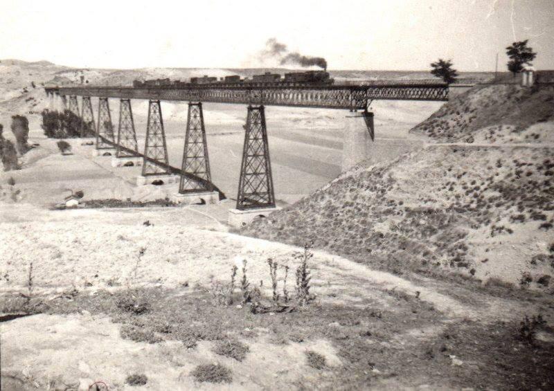 Guadalortuna (Granada) Puente del Hacho, año 1942, foto Antinio Carmona