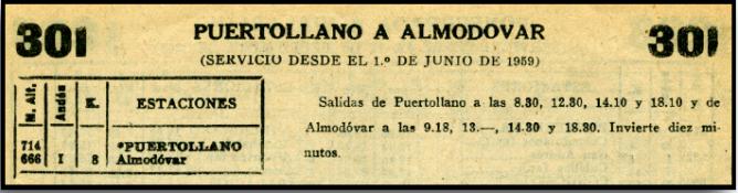 horarios-entre-puertollano-y-almodovar-1959