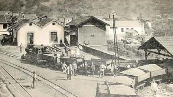 Hulleras del Turon , postal comercial