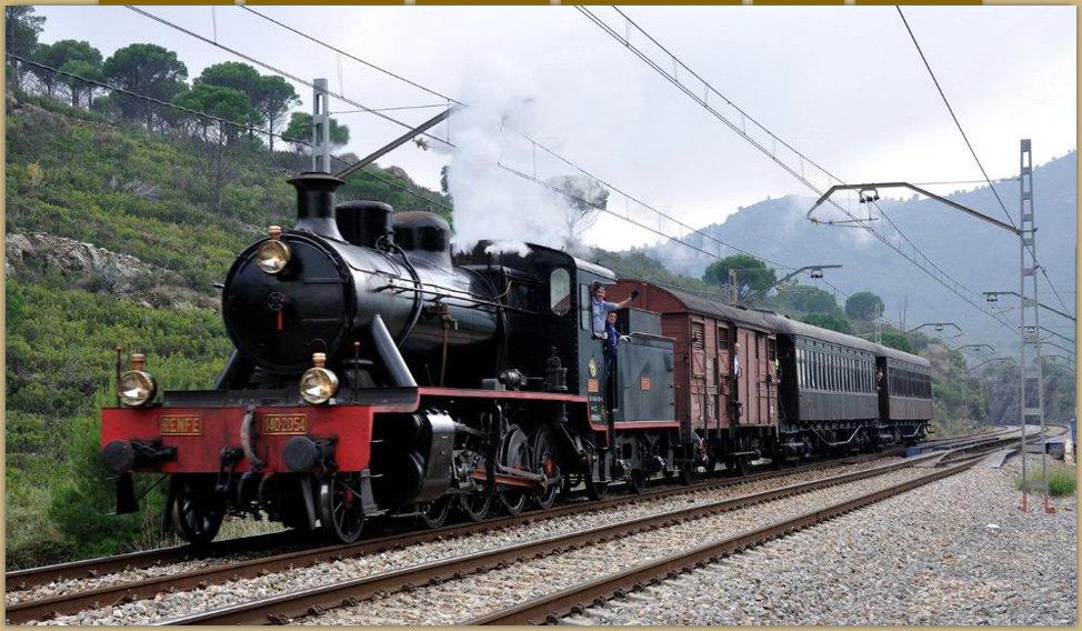 Locomotora de Andaluces, foto Enrique Andres Gramage