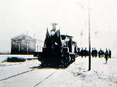 Inauguracion de la linea , estacion de Pulpi , Artchivo Reydon