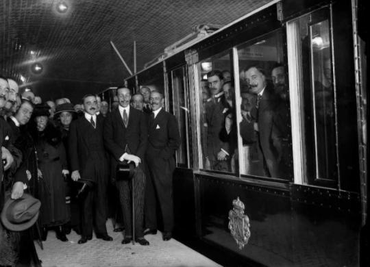 Inauguracion del Metropolitano de Madrid