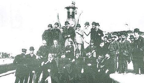 Inauguracion del Ramal de Aguilas á Almendricos