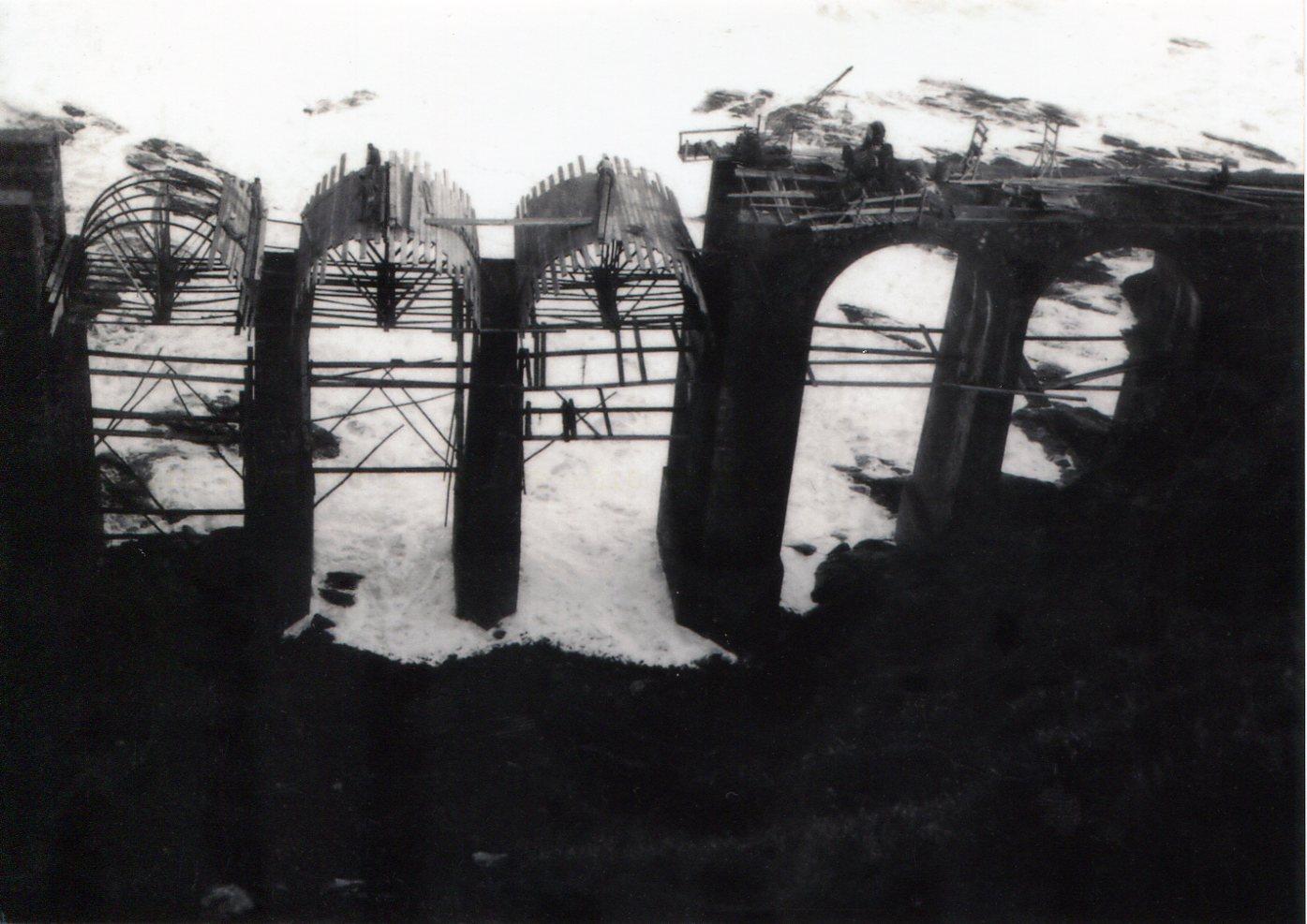 Viaducto de Lamiazaran, fondo J.J. Olaizola