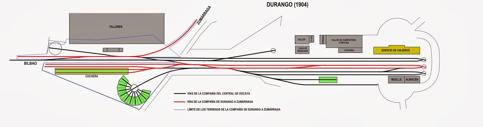 Instalaciones de Durango , dibujo Pedro Pintado Quintana