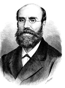 El Ministro de Fomento José de Echegaray y Eizaguirre