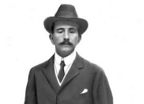 Juan Antonio Gamazo Abarca, Conde de Gamazo, del Consejo del Fc de Olot a Gerona en 1931,foto hemeroteca ABC