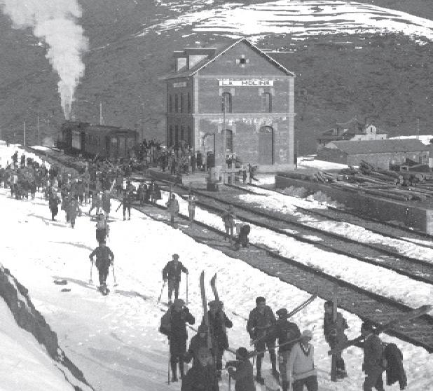 La Molina - año 1925, foto Albert Oliveras