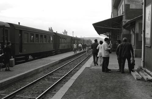 La Robla, Tren de viajeros, foto Jordi Valero , archivo MVF