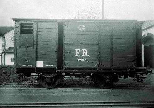 La Robla, vagón cerrado,