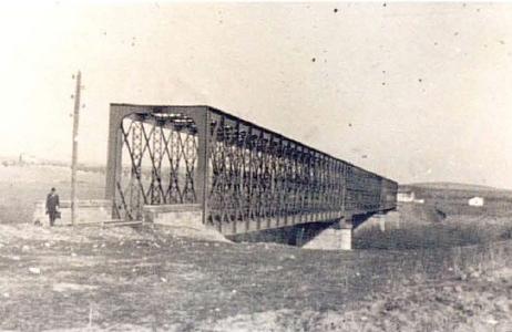 Linares a Puente Genil, Puente sobre el Guadalquivir en Espeluy , AHF - FE-0001