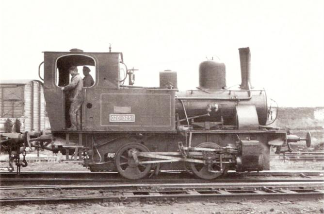Locomotora 020T