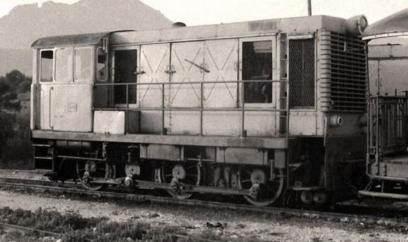 Locomotora Batignoles CAF , año 1950, autor desconocido