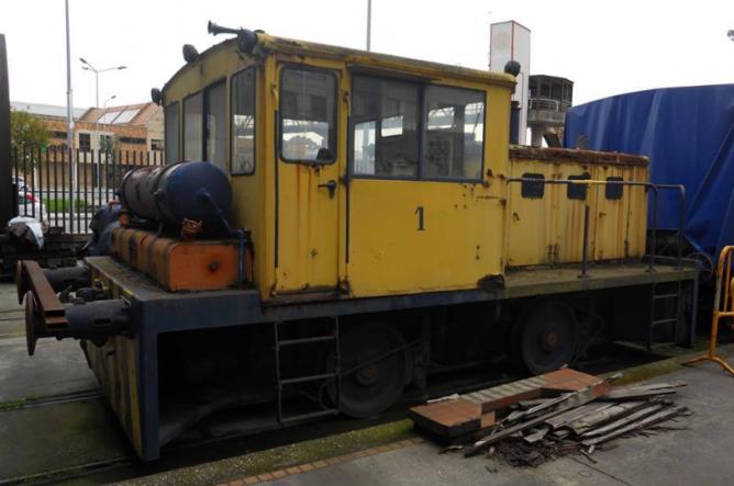 Locomotora CEL.1 - Museo del Ferrocarril de Gijón