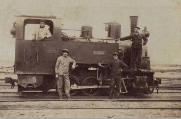 Locomotora Candelaria, Fondo Santiago Gonzalez Flores