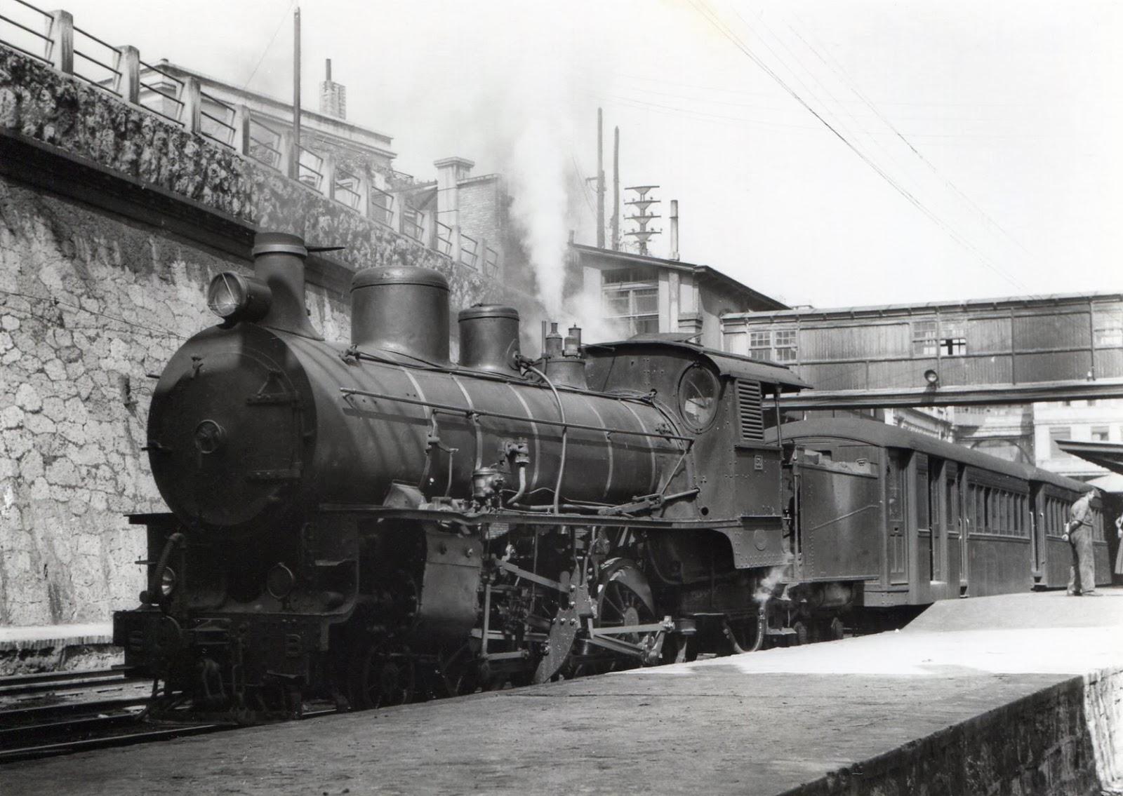 Locomotora Engerth de Vascongados , foto Jonh Blyth