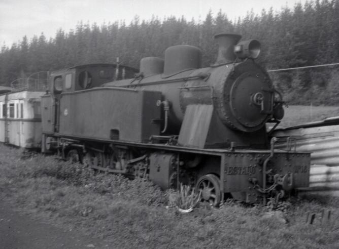 Locomotora Estado nº 16 en Zugastieta