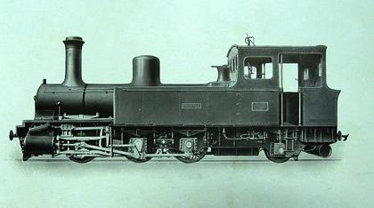 Locomotora Franco-Belga , foto del fabricante , Archivo MVF