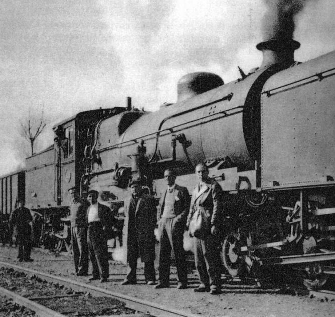 Locomotora Garrat de Sierra Menera, fondo Nel Amaro