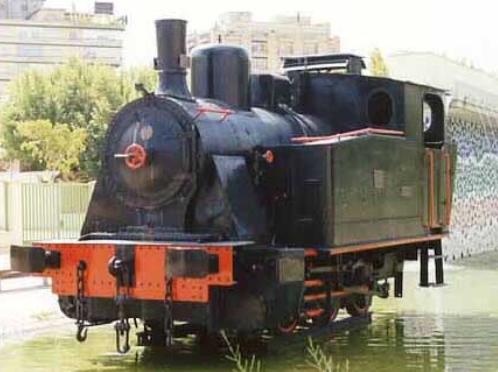 Locomotora III-Henschel foto ,Jose Enrique Fernandez Morenp