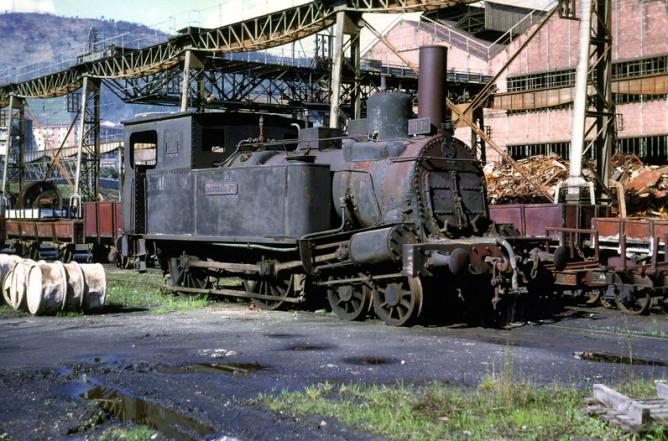 Locomotora LA BASCONIA rodaje 220T, foto Wiseman