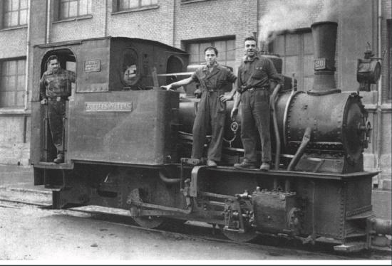 Locomotora Marques de Cubas , archivo Julio y Josemanuel Arbesú