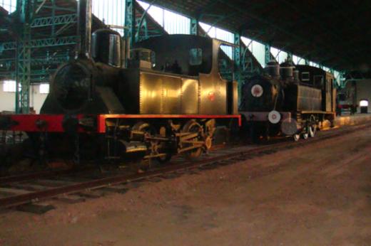 Locomotora Marta y Belmez, archivo Via Libre