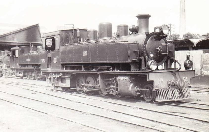 Locomotora Nº 64 , Fondo Pereve