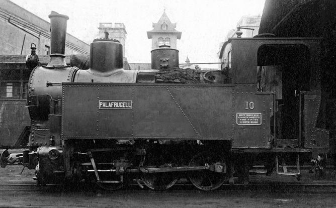 Locomotora PALAFRUGUELL, nº 10 del PGB , Viquipedia