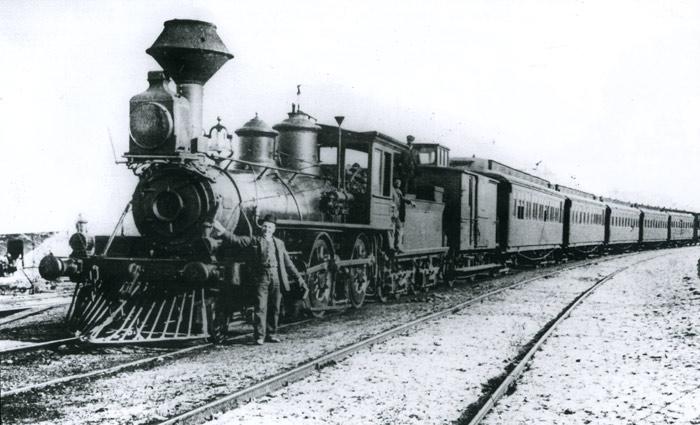 Locomotora Rogers del VVB , archiovo Cuyás