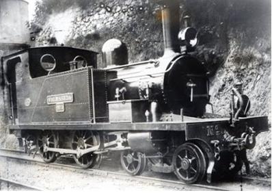 Locomotora Valmaseda, Archivo Museo Vasco del Ferrocarril