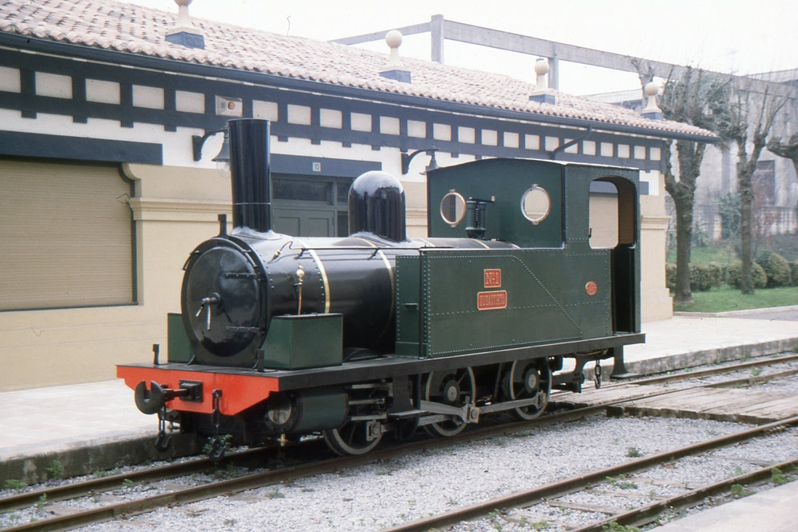Locomotora Zugastieta , Museo Vasco del Ferrocarril